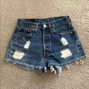 Urban Outfitters Shorts - Levi denim cutoffs